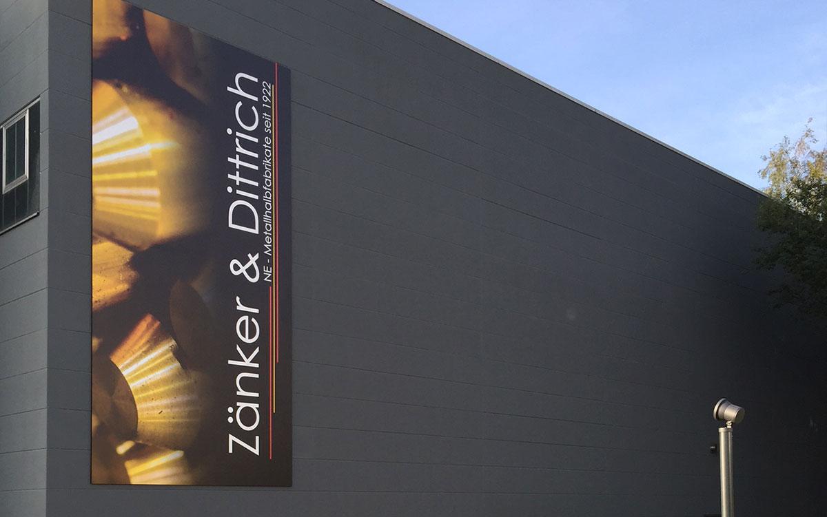 Über Zänker & Dittrich - NE Metallhalbfabrikate seit 1922